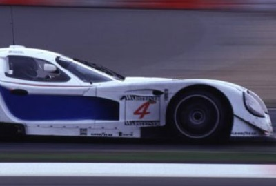 Image of a race car depicting the imagery of fast track scheduling.